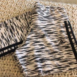 Adidas zebra sport essentials leggings